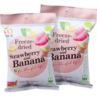 Wel-B 2 x Freezedried Strawberry & Banana, 16 g