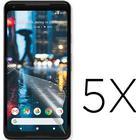 Google pixel 2 xl fem pack skydds film - genomskinlig