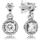 Pandora Classic Elegance Silver Earrings w. Cubic Zirconia (290594CZ)