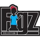 Figz Logo Klistermærke - Sort
