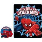 Spindelmannen - spiderman fleece filt