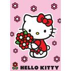 Hello Kitty Gulvtæppe 133x95cm