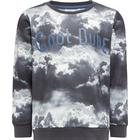 Name It Mini Sky Printed Sweatshirt - Black/Black (13148446)