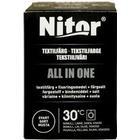 Nitor Textilfärg All In One, 350 g, svart