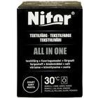 Nitor Textilfärg All In One, 230 g, svart