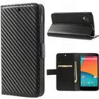Nexus 5 FlipStand Taske/Etui - Sort Carbon