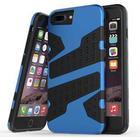 Mili camouflage cover til iPhone 7 Plus / iPhone 8 Plus - Mørke Blå