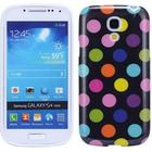 Glat Dog Pattern Silicone Cover S4 Mini (Neon)