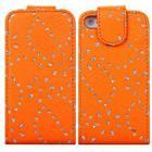 Trendy Diamond Etui 4/4S (Orange)