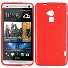 HTC One Max - Simple Silikone (rød)
