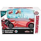 Hasbro OPENBOX Coche Transformers con Lanzadera Hasbro 213112002 Majorette 11 cm