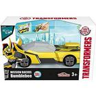 Hasbro OPENBOX Coche Transformers con Lanzadera Hasbro 213112001 Majorette Bumblebee 11 cm