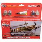Airfix Modellbyggsats Spitfire Mk1a Starter Set A55100, Airfix