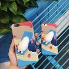 MOBILCOVERS.DK iPhone 8 / 7Squishy Cover - A Sunbathing Polar Bear