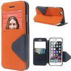 iPhone 6 / 6s ROAR KOREA View Etui m. Pung Orange