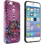 Just Cavalli Antishock iPhone 6 / 6s Cover Case Leo Tiger Garden Pink