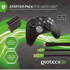 Gioteck Xbox One Controller Accessory Pack (Includes Rechargeable Battery Pack and 3M Charging Cable, Controller Silicone Skin, HDMI Cable, Thumb Grips) (Xbox One)