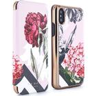 Ted Baker AMELIE Mirror Folio Case for iPhone X - Palace Gardens