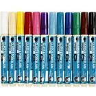 Övriga Tillverkare Porslin - Glaspennor - 12 st Täckande Färger 2-4 mm