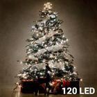 Julelyskæde 120 lys