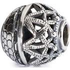 Trollbeads Spiritual Ornament Silver Bead Charm (TAGBE-30055)