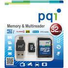 pqi Micro Sd Och Multireader 32 Gb