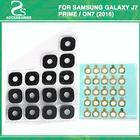 10pcs For Samsung Galaxy J7 Prime / On7 (2016) G570 G610 Back Rear Camera Glass Lens Part With Stickers