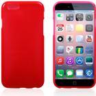 iPhone 6/6S TPU cover. Rød.