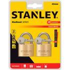 Stanley - Hængelås 40 mm - 2 stk