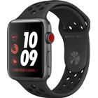 APPLE Watch3 Nike Cell. 42mm Alu Sp. gy   MQMF2ZD/A Case with Anthracite