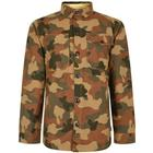 BARBOUR INTERNATIONAL Camouflage Button Jacket - Olive - Extra Lge