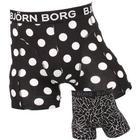 Bjørn Borg 2-Pack 90011 Boxershorts Black Dots