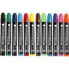 Övriga Tillverkare Porslin - Glaspennor - 12 st Opaque Färger 1-3 mm