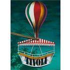 Nostalgi Ballongynge i Tivoli plakat - af Ib Andersen H 80 x B 60 cm