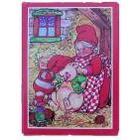 Kalendergave puslespil mini Nissemor og julegris
