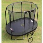 Diverse producenter Trampolin 350 x 244 cm. - Deluxe Oval Black