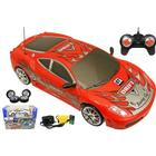 ToyandModelStore Radio Control Drift Car Ferrari Replica 1/24 Scale Complete With Batteries And Charger - Red