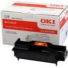 OKI B411/B431 BK (44574302) Tromle, sort Original 25000 print