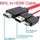 MHL (HDMI kabel) Koppla Micro-USB Mobiltelefoner och Surfplattor till HDTV