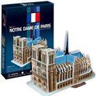 Notre Dame 3D puslespil - 40 brikker