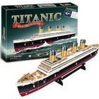 Titanic 3D puslespil -  35 brikker