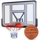 My Hood basketkurv på plade Inkl. basketball - Monteres direkte på væg, husmur eller garage