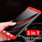 360 Degree Protection Phone Cases for Samsung Galaxy S8 Plus S6 S7 Edge Case Luxury for Samsung Galaxy Note 8 J7 J5 J3 2017 Case