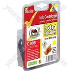 Inkrite NG Printer Ink (Chipped) Canon iP3300 4200 4300 5200 ix4000 MP500 - CLI-8Y Yellow (Horse)