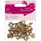 Papermania Charm Pack Vintage Keys - 21 st