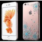 Kavaro - Diamond Flower (iPhone 6(S) Plus) - Blå
