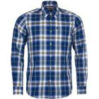 Barbour M's Jeff Shirt Tailored Fit Deep Blue