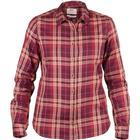 Fjällräven Övik Flannel Shirt Dark Garnet