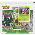 Pokémon XY Fates Collide Boosters 3 Booster Packs with Vivillon Promo Card & Coin