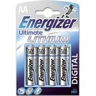Energizer AA/LR6 Ultimate Lithium 4-pack